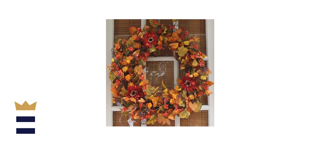 The Wreath Depot Highland Silk Fall Door Wreath