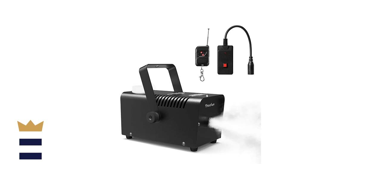 Theefun 400-Watt Smoke/Fog Machine With 2000CFM and Wired or Wireless Remote