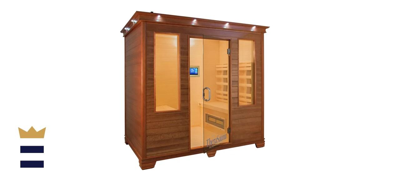 TheraSauna 4 Person Face to Face FAR Infrared Sauna
