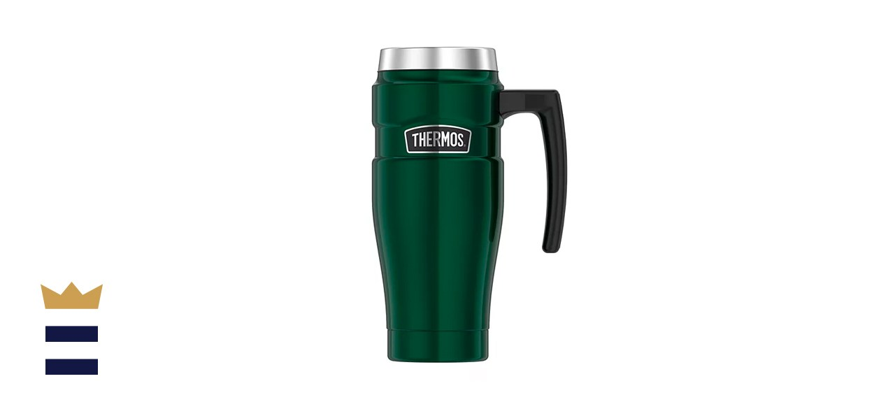 Thermos 16-Ounce Stainless Steel King Mug With Handle