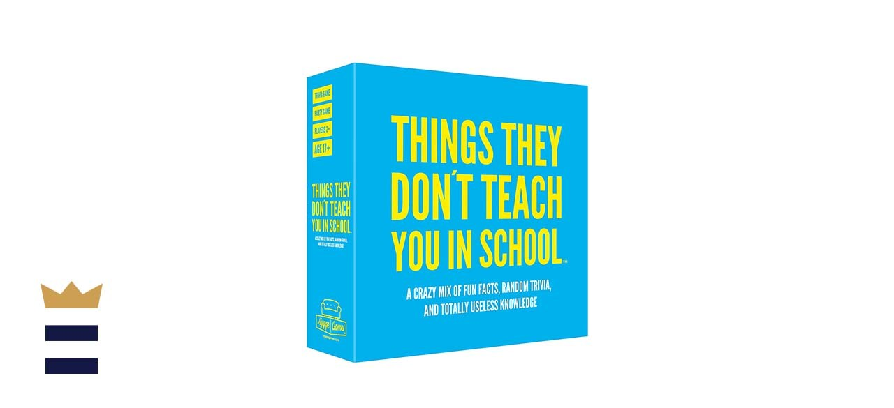 Things They Don't Teach You in School Party Trivia Game