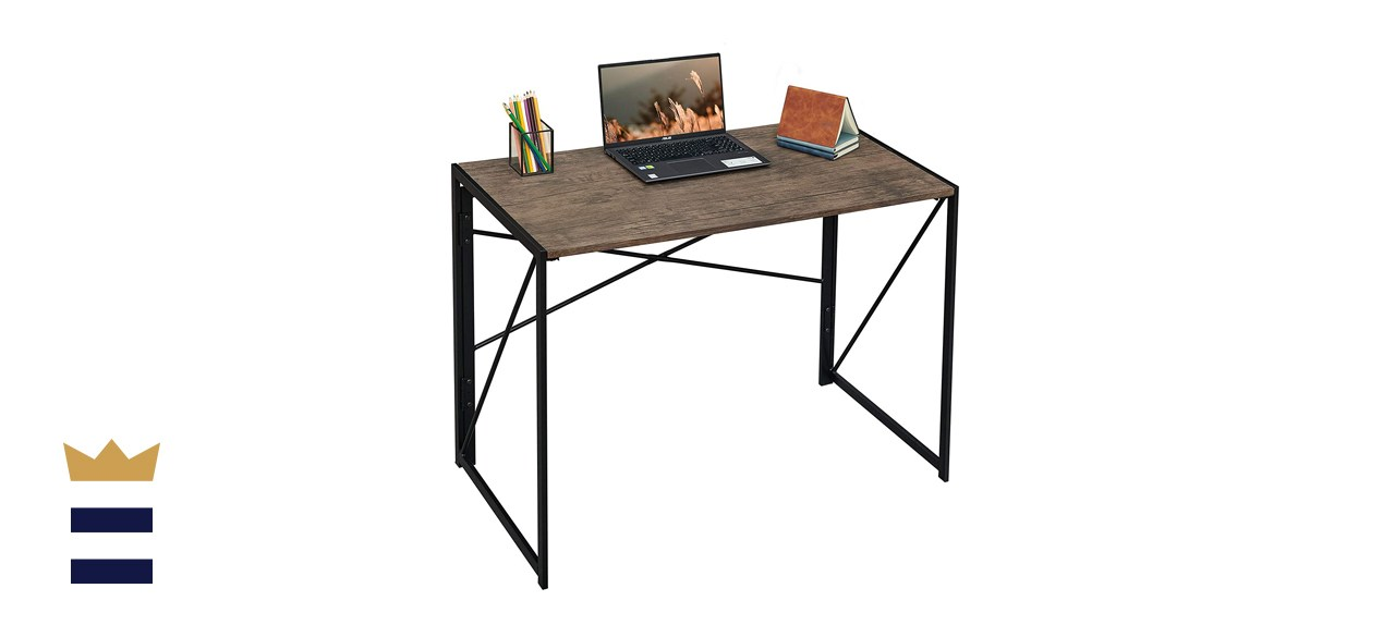 Coavas Folding Desk No Assembly Required