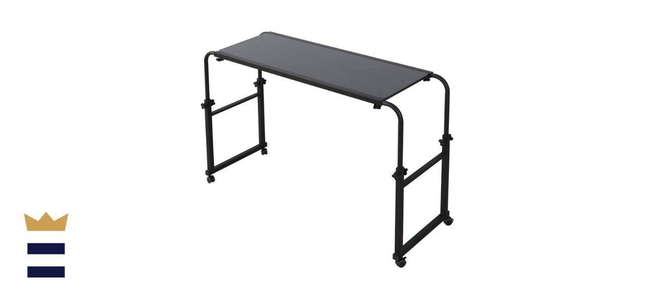 Tigerdad Overbed Desk with Wheels