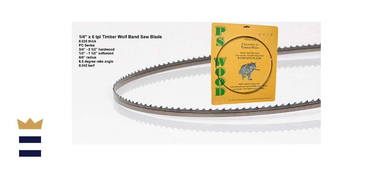 Timber Wolf band saw blade