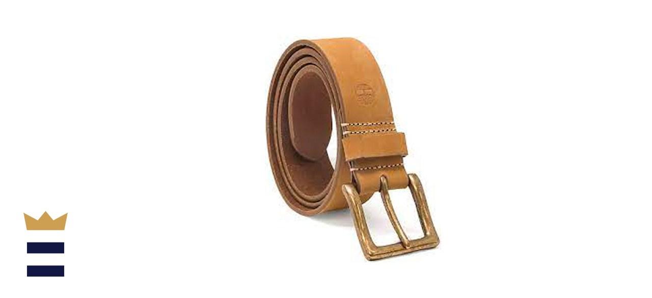 Timberland Icon Nubuck Boot Leather Belt
