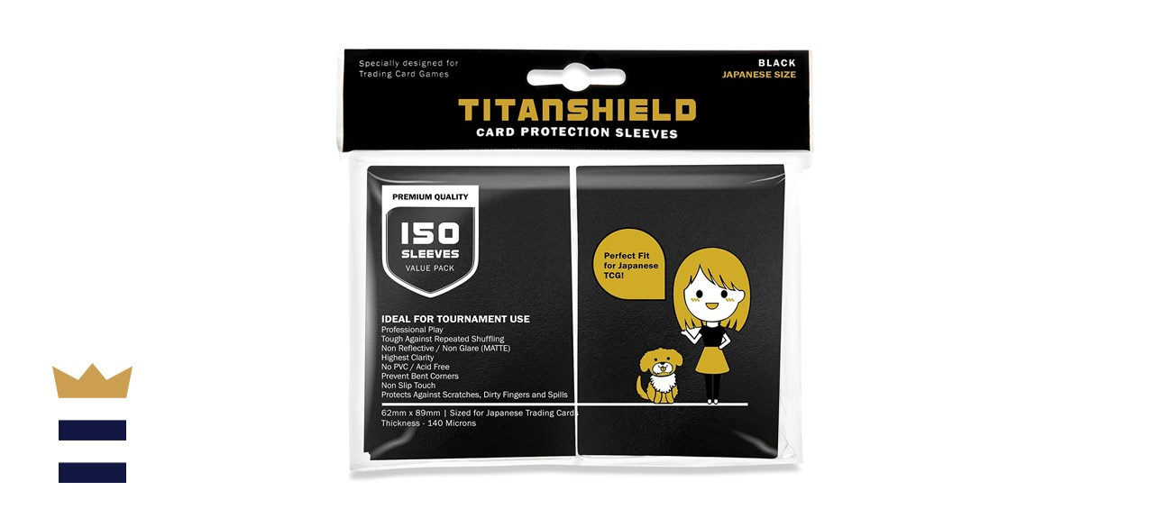 TitanShield Small Card Protection Sleeves