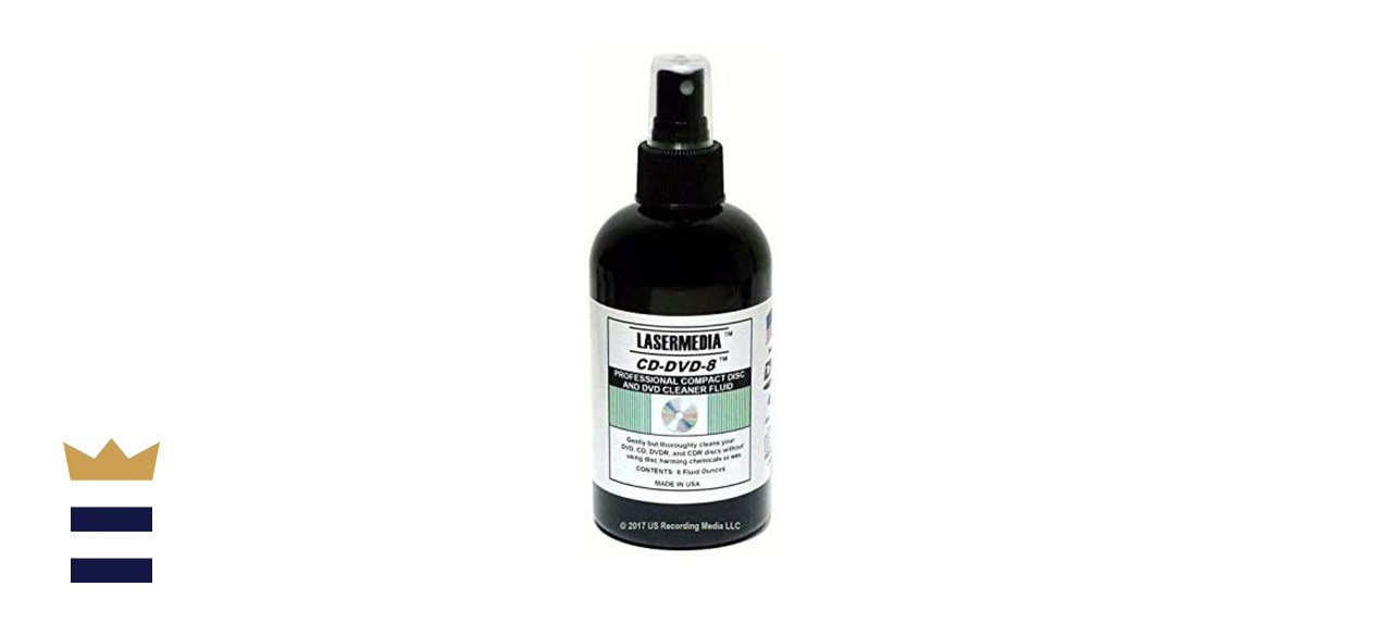 TME Compact Disc Cleaning Solution Fluid