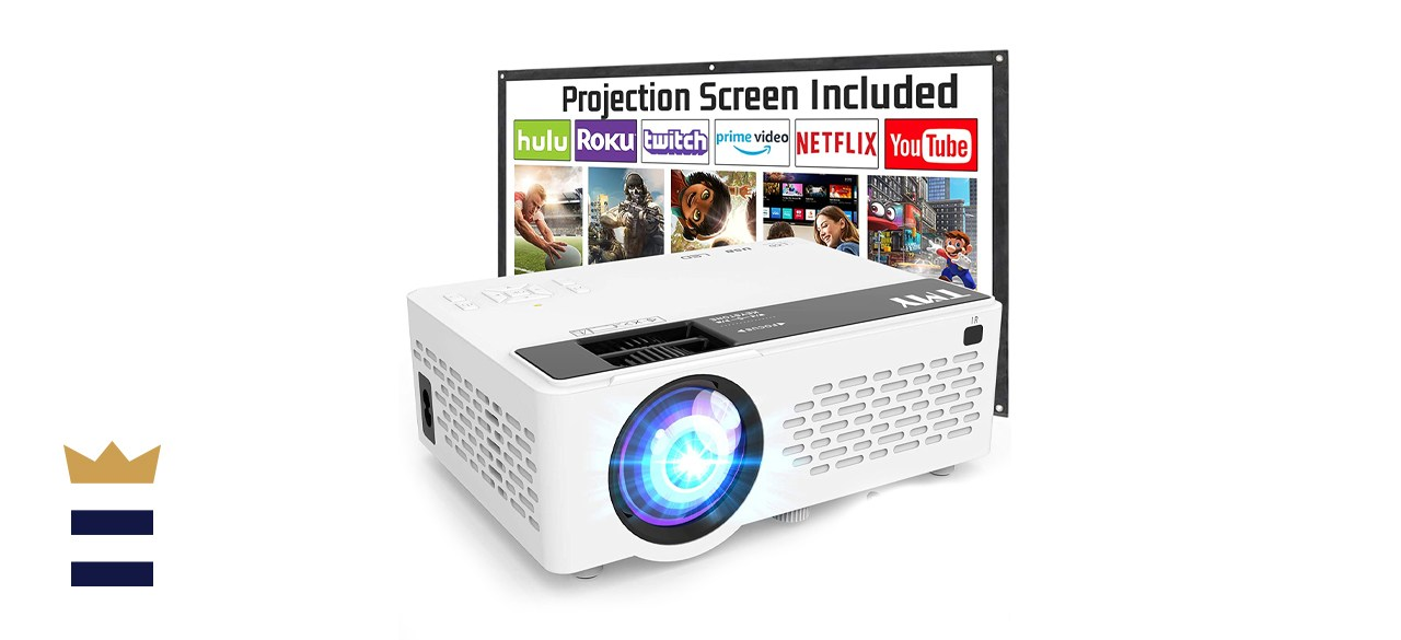 TMY V08 1080P Full HD Supported Video Projector