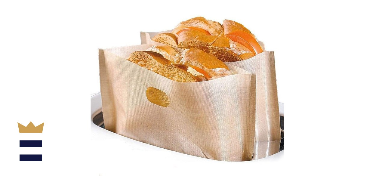 Non Stick Toaster Bags Reusable and Heat Resistant Easy to Clean