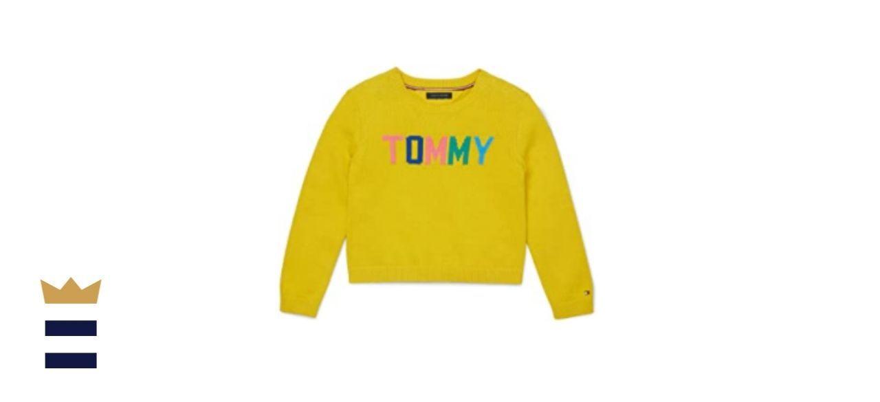 Tommy Hilfiger Girls' Adaptive Sweater
