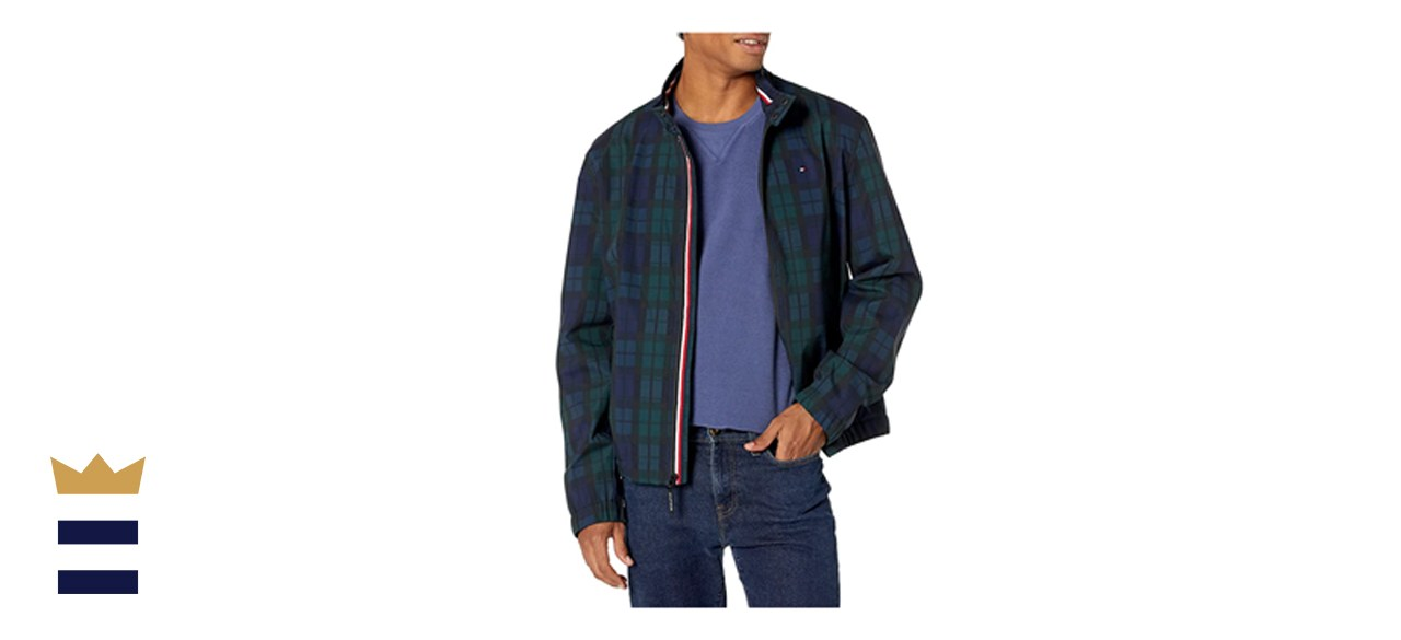 Tommy Hilfiger Performance Faux Memory Bomber Jacket