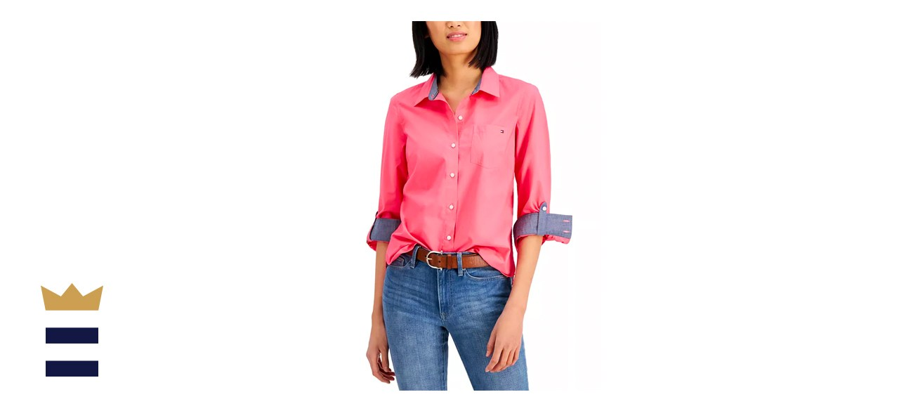 Tommy Hilfiger Roll-Tab Button-Up Shirt