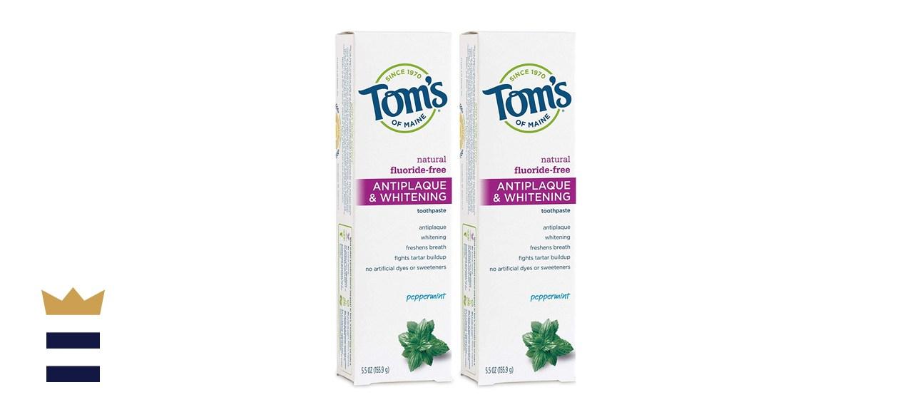 Tom's of Maine Antiplaque & Whitening Toothpaste