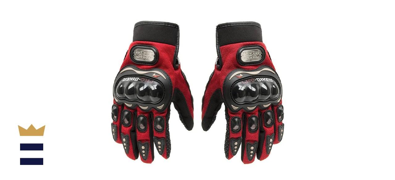 Tonsiki Carbon Fiber Motorbike Gloves