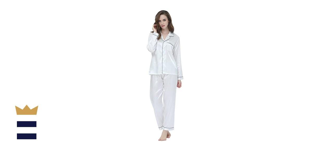 Tony and Candice Classic Satin Pajamas
