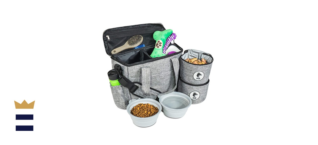 Top Dog Travel Bag in Gray