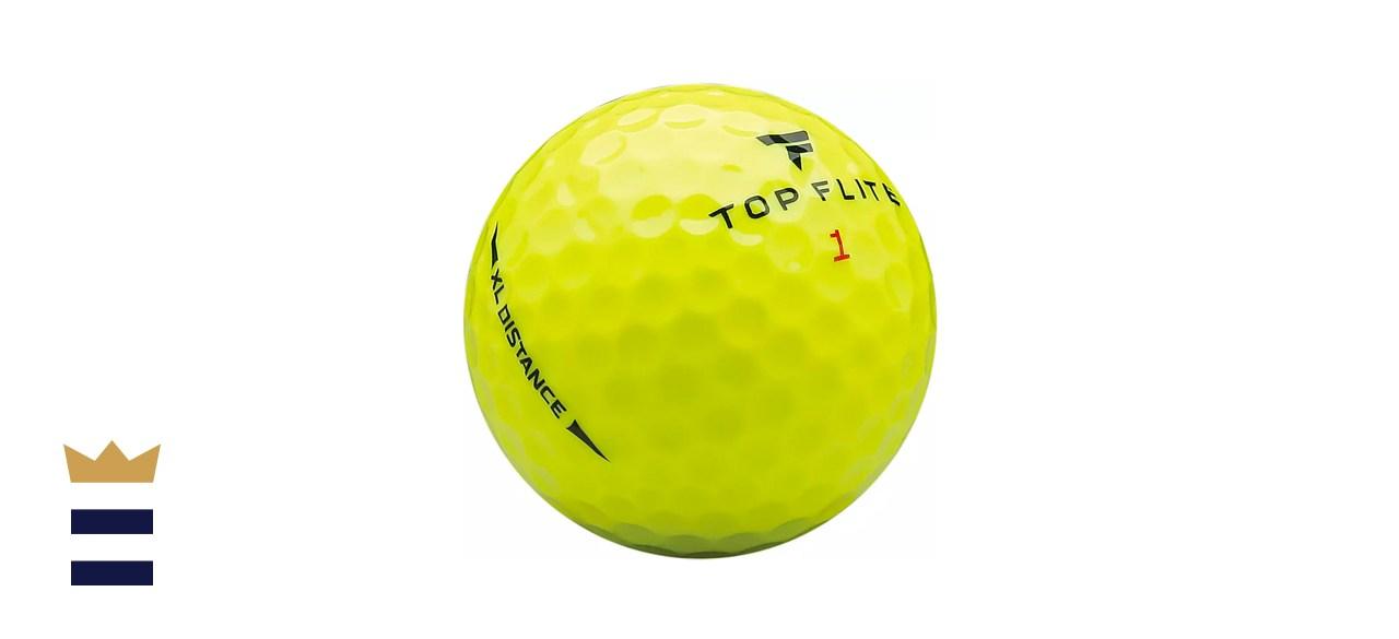Top Flite 2020 XL Distance Yellow Golf Balls