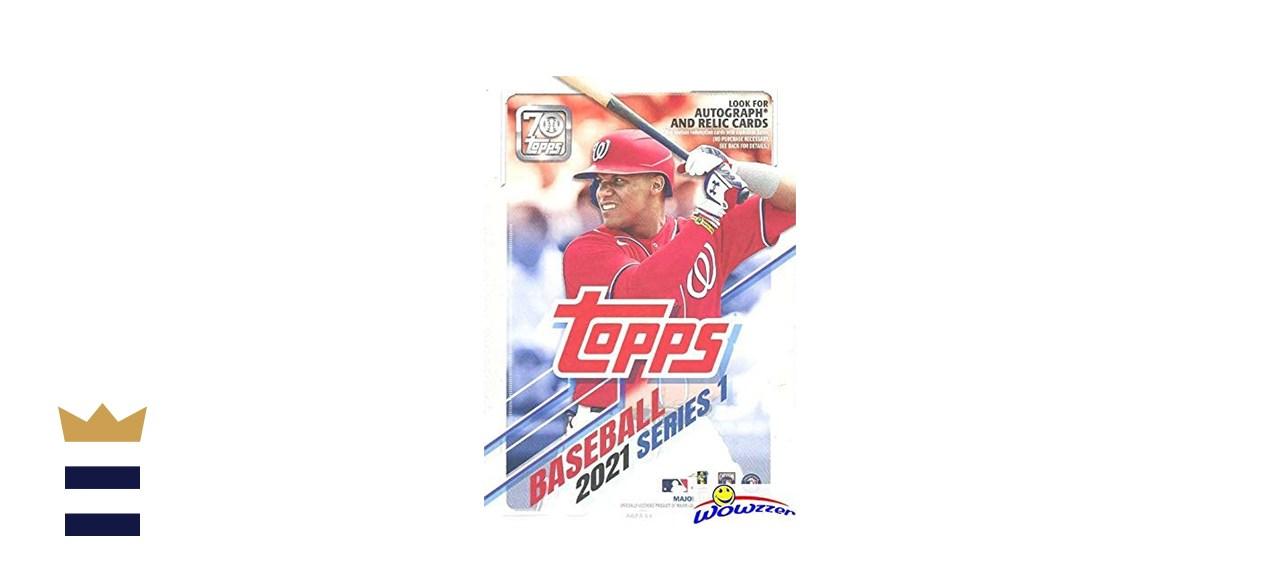 Topps 2021 Series 1 Baseball Hanger Box
