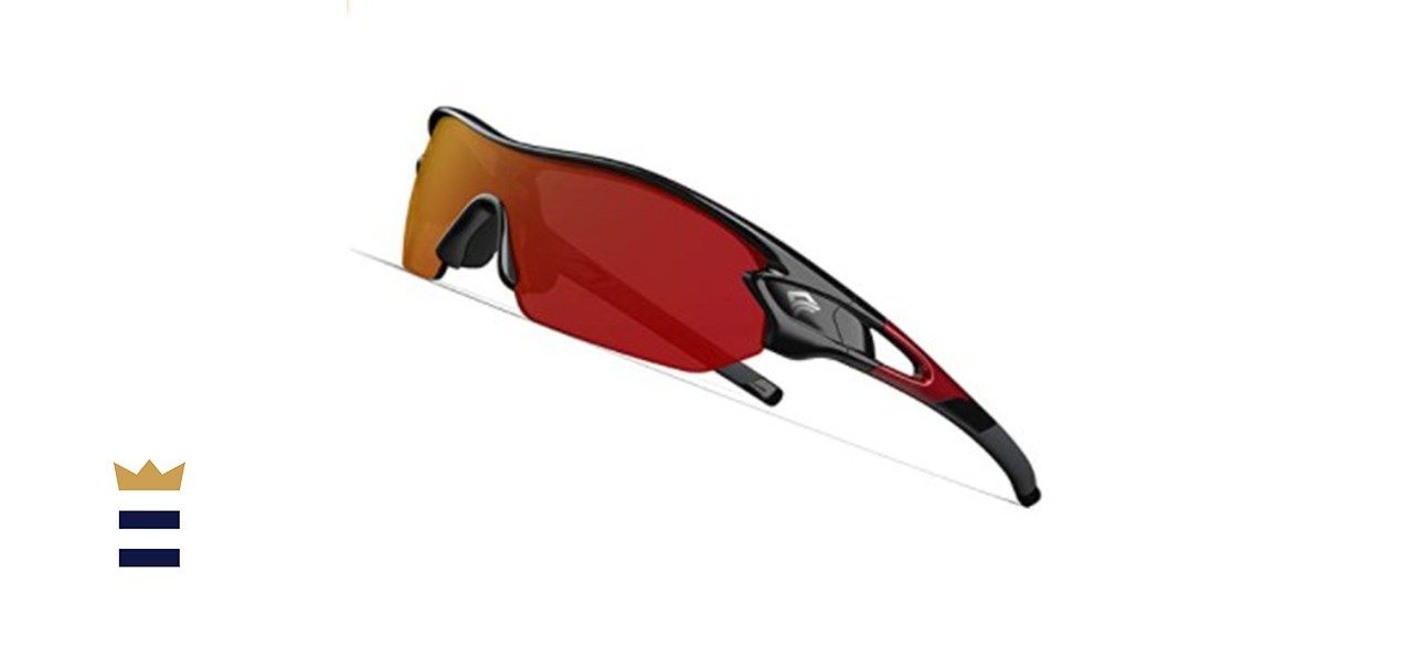Torege Polarized Sports Sunglasses