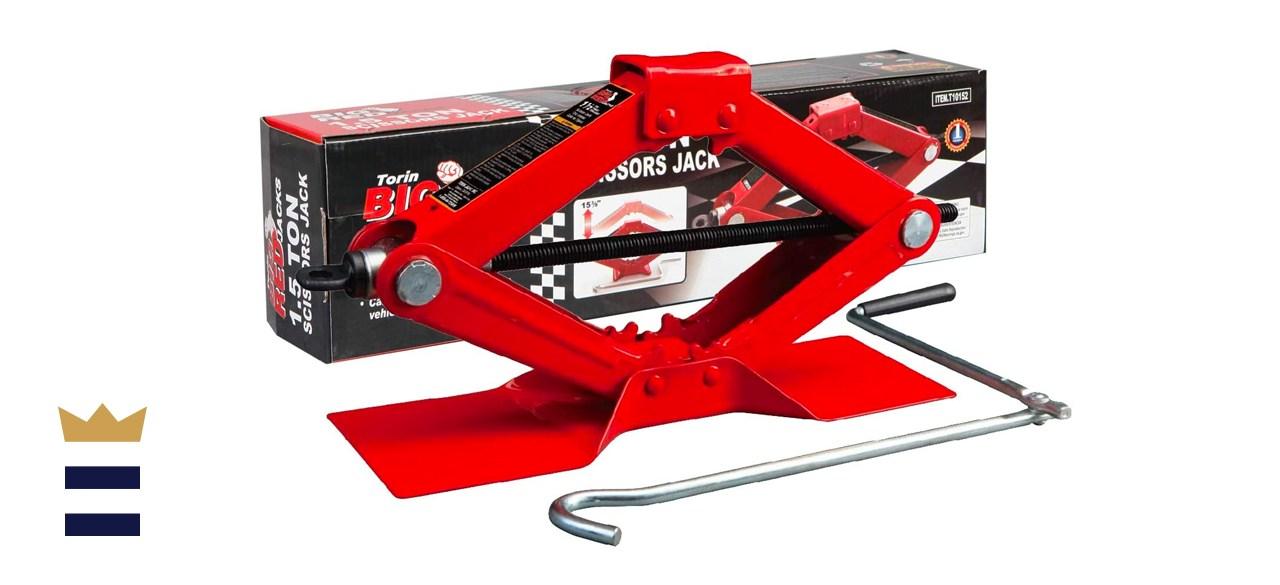 Torin BIG RED Steel Scissor Lift Jack