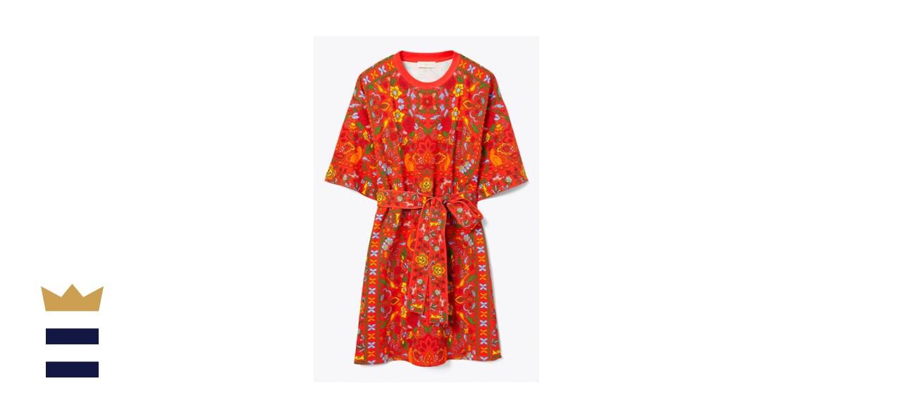 Tory Burch Scarf Printed T-shirt Dress