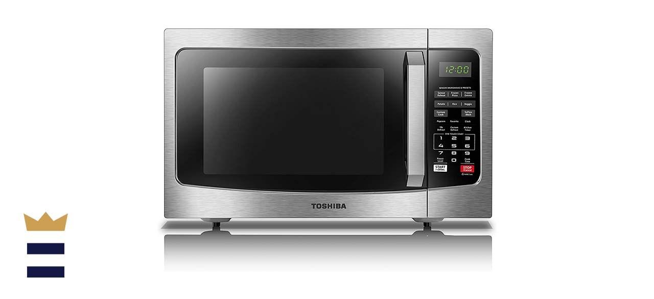 Toshiba Microwave with Smart Sensor