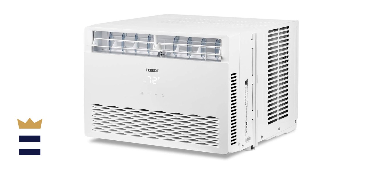 TOSOT 8,000 BTU Window Air Conditioner with Remote Control
