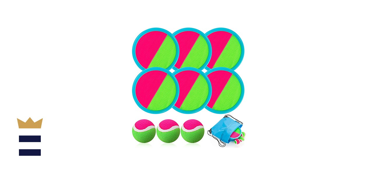 Toss and Catch Ball Set, Catch Game Toys