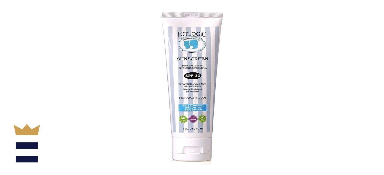 TotLogic's Natural Sunscreen SPF 30
