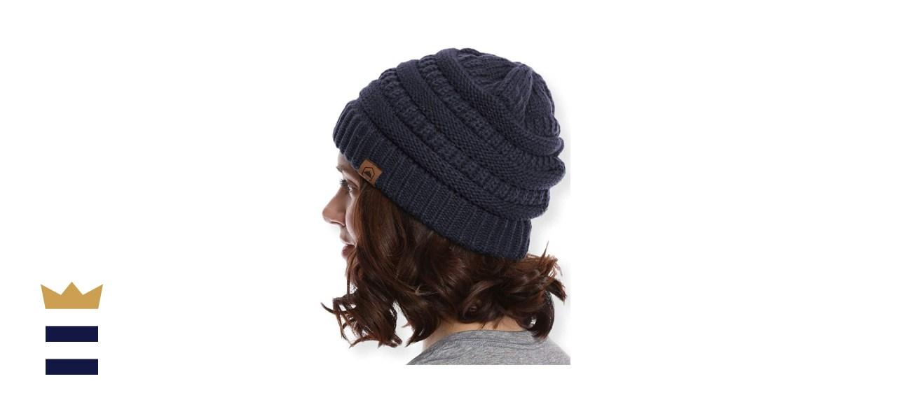 Tough Headwear Chunky Cable Knit Beanie