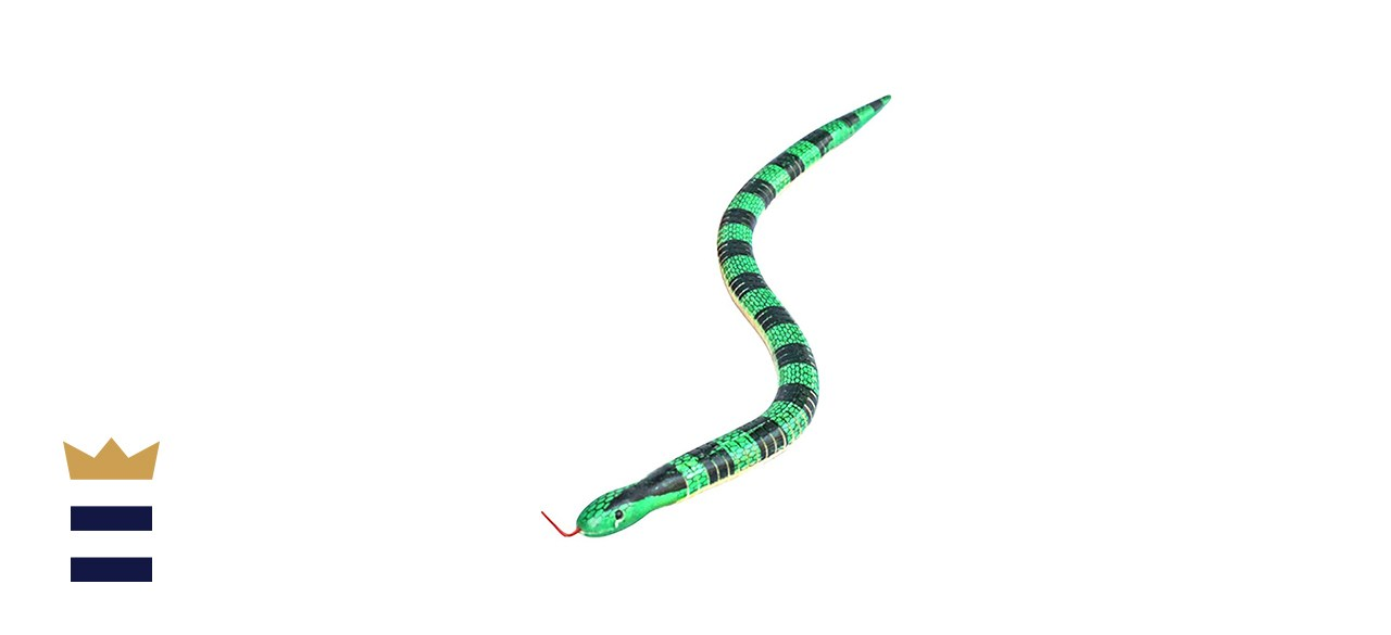 Toy Wooden Snake