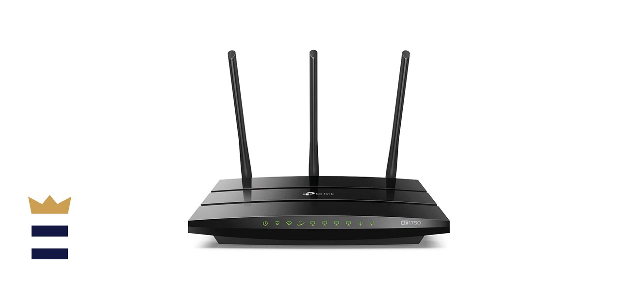 TP-Link AC1750 Archer A7 Dual-Band Smart WiFi Router with Voice Control Ability