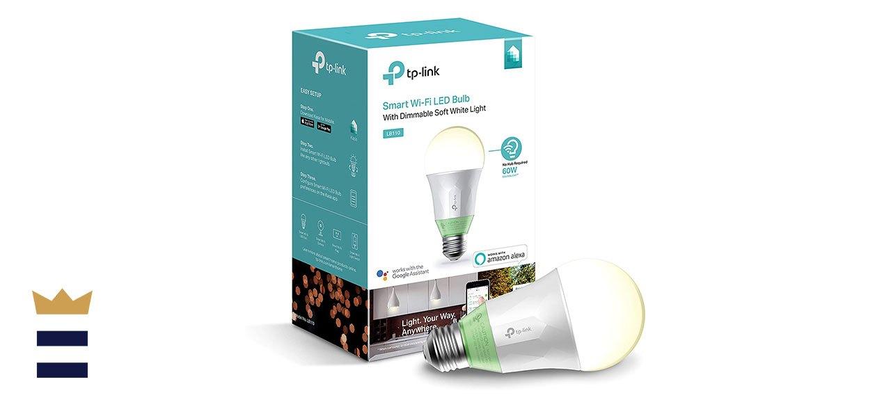 TP-Link's Kasa Smart LED Light Bulb, Dimmable White