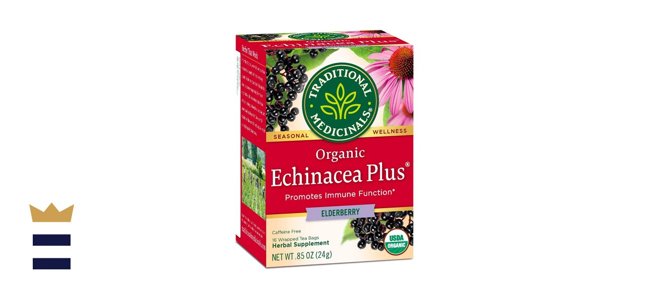Traditional Medicinals Organic Echinacea Plus Elderberry