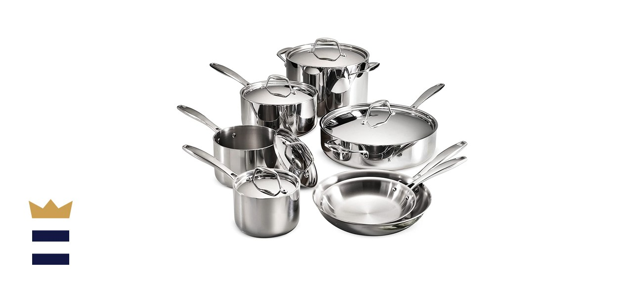 Tramontina Tri-Ply Clad 12-Piece Cookware