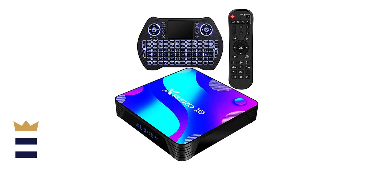 Transpeed's RK3318 Android 9.0 Streaming Media Box
