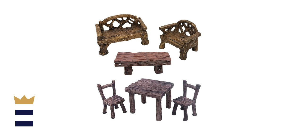 Trasfit Miniature Table and Chairs Set