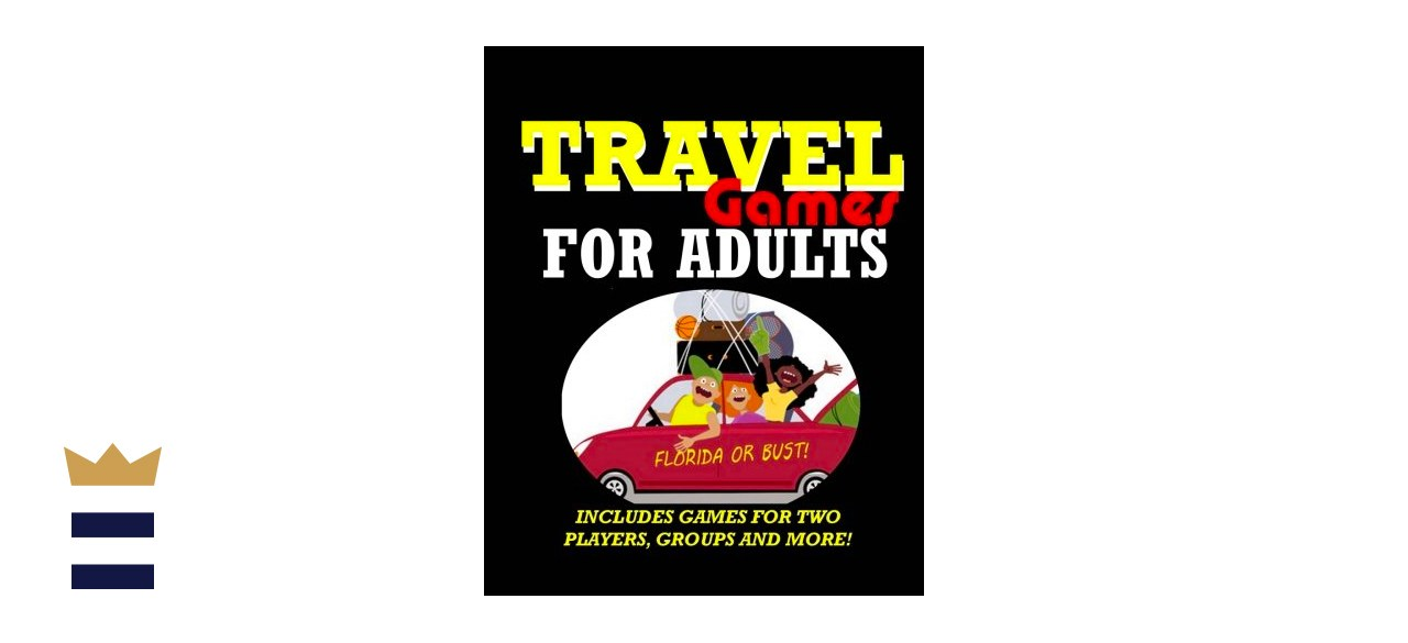 Travel Games for Adults: Coloring, Games, Puzzles and Trivia