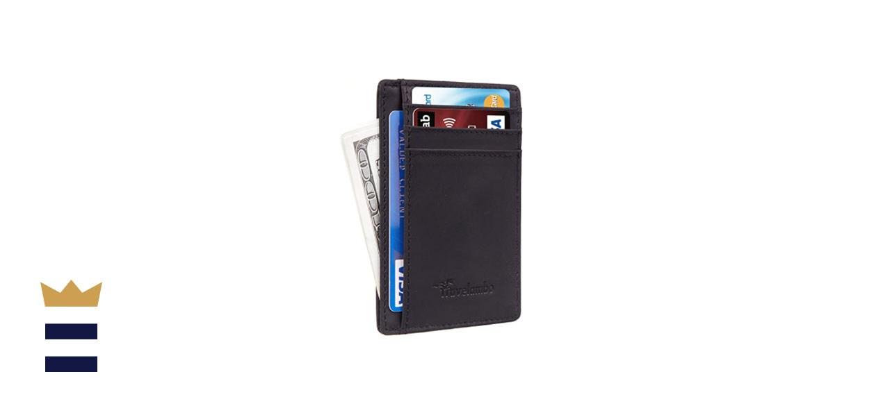 Travelambo Leather RFID Slim Wallet