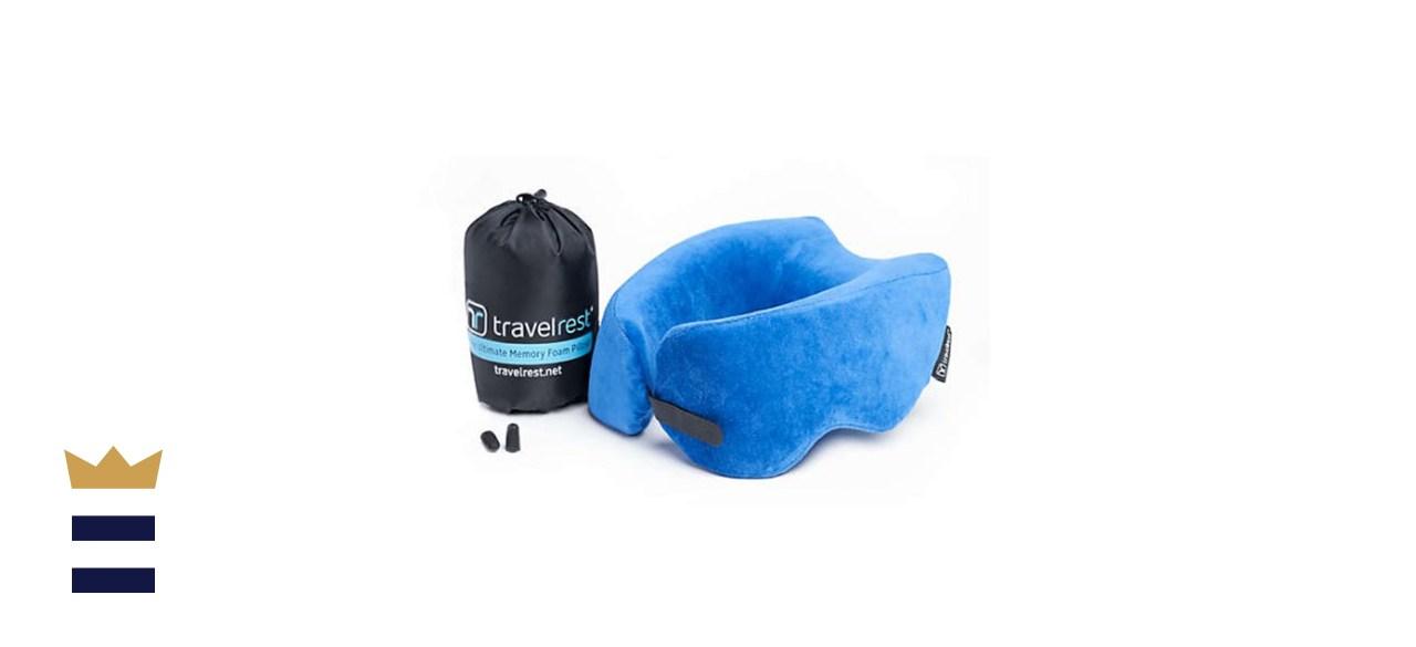 Travelrest Nest Ultimate Memory Foam Travel Pillow