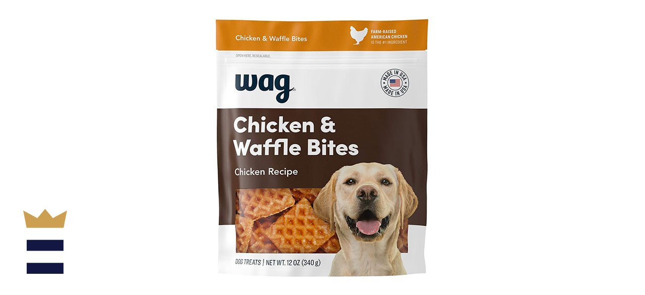 Wag Treats Chicken and Waffle Bites