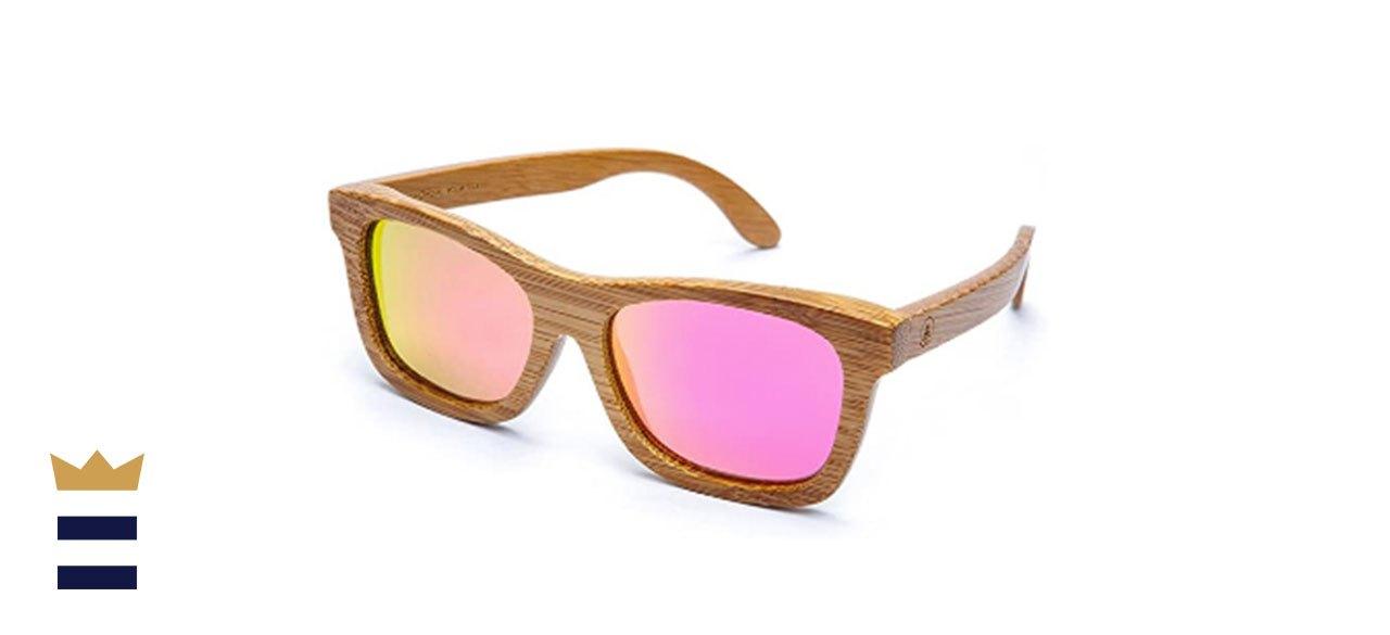 Tree Tribe's Bamboo Sunglasses