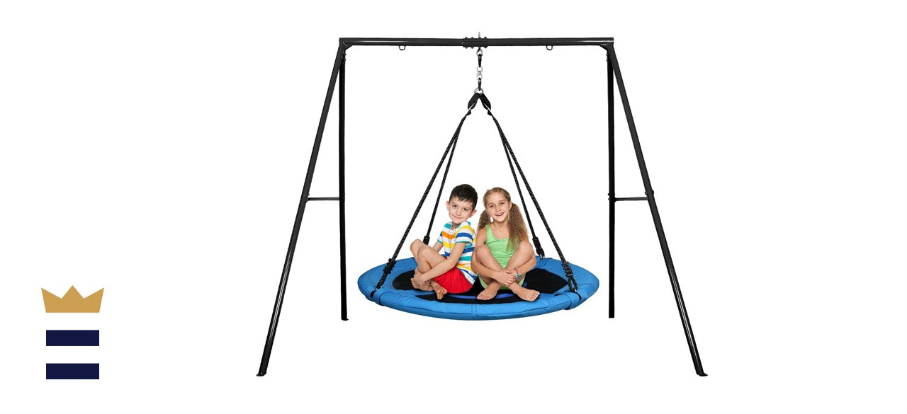 Trekassy Saucer Tree Swing Set