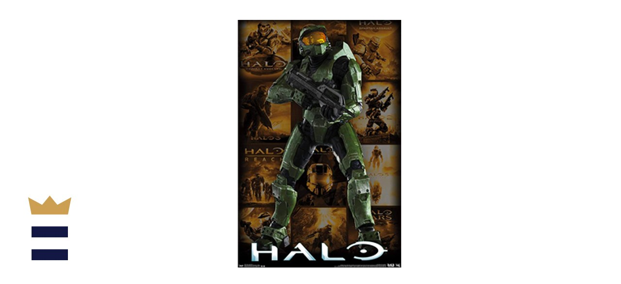 Trends International Halo Art Poster