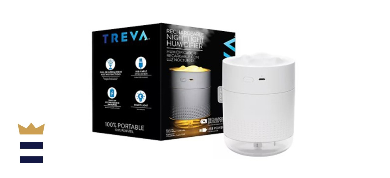 Treva Night Light Rechargeable Humidifier