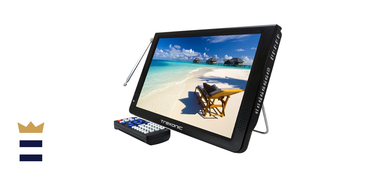 Trexonic Ultra Lightweight Rechargeable LED TV