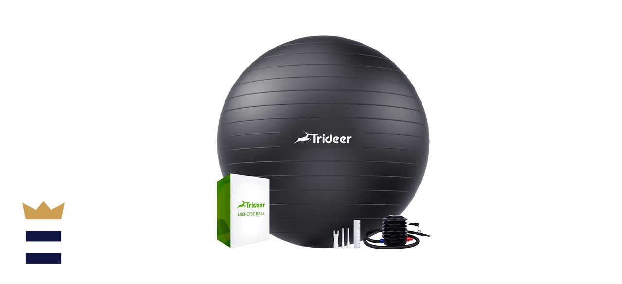 Trideer Extra-thick Yoga Exercise Ball