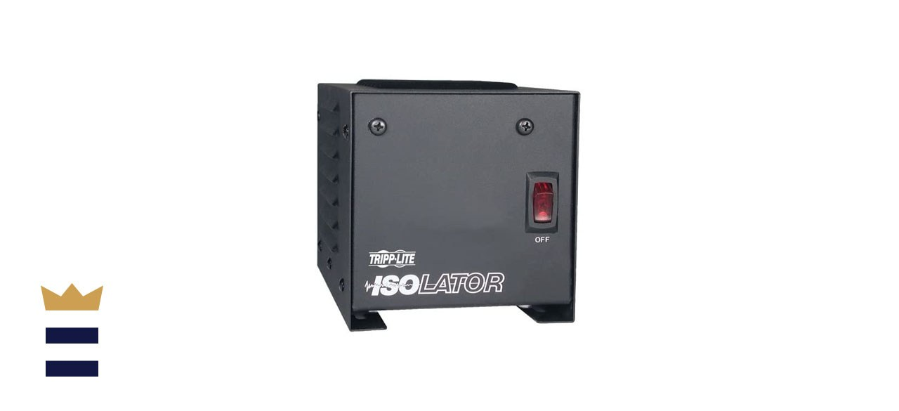 Tripp Lite IS250 Isolation Transformer 250W Surge 120V 2 Outlet