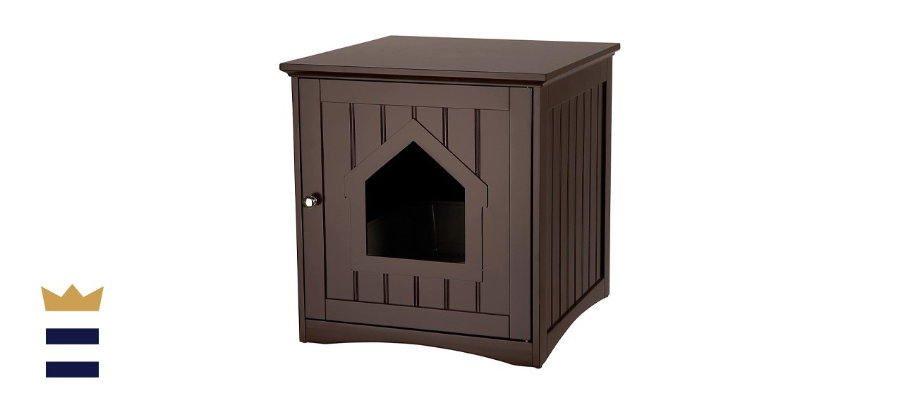 TRIXIE Wooden Cat Home & Litter Box Cover