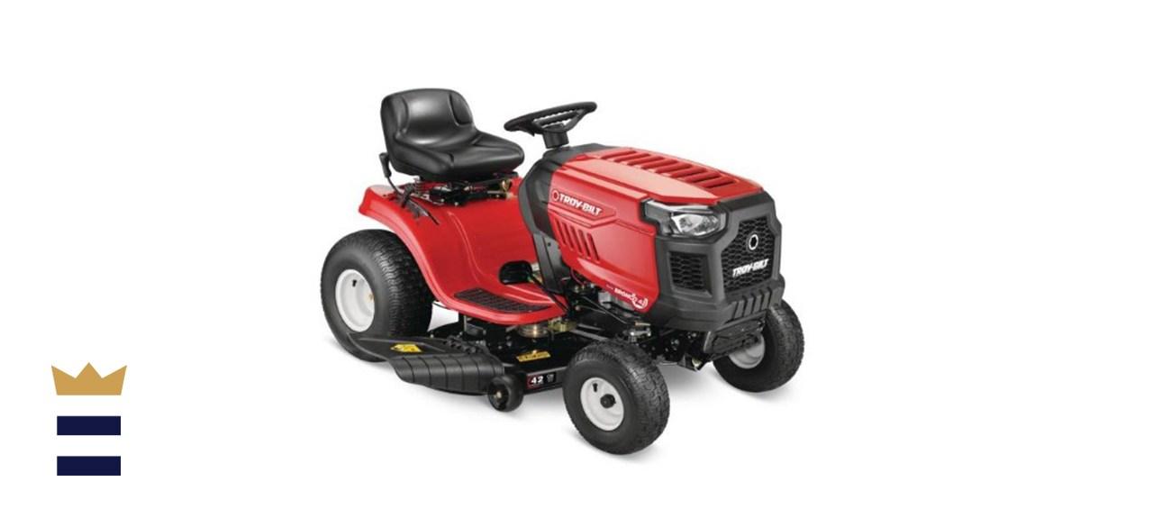 Troy-Bilt Bronco 42-inch 19 HP Automatic Gas Riding Lawn Mower
